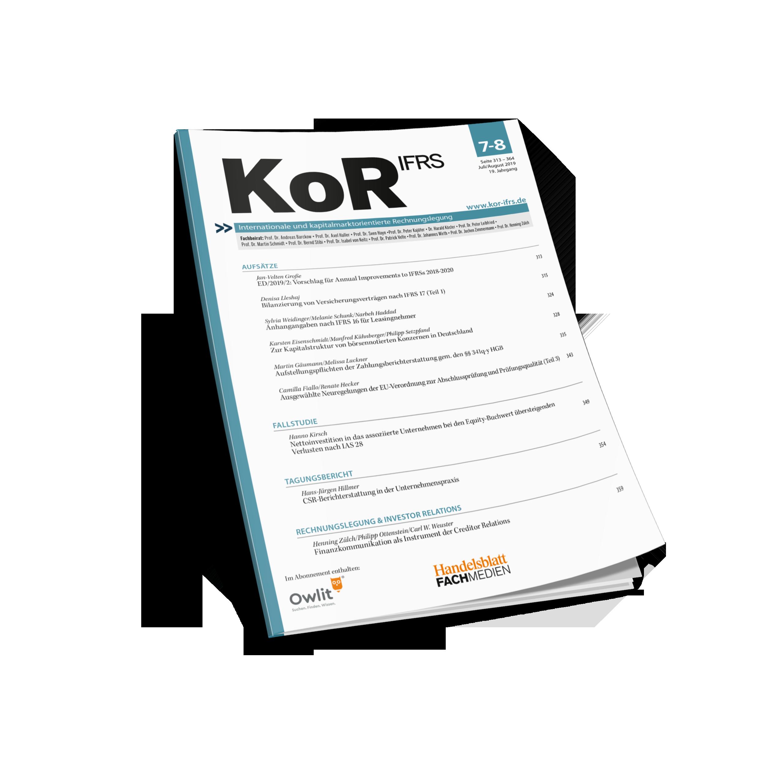 KoR IFRS