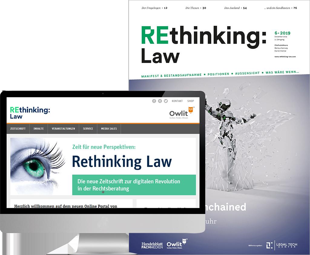 REthinking Law Gratis-Paket