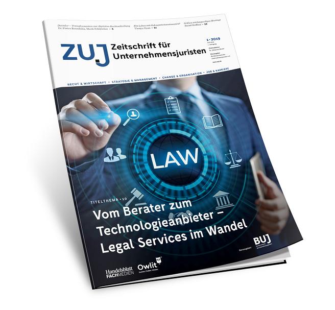 ZUJ - Zeitschrift für Unternehmensjuristen